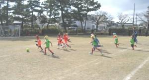 サッカー年中2