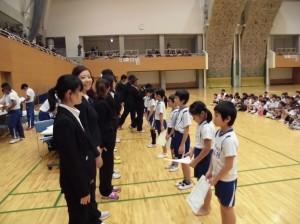 体操大会②