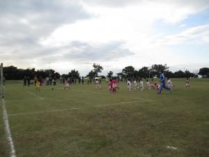 サッカー試合②