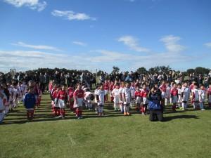 サッカー開会式